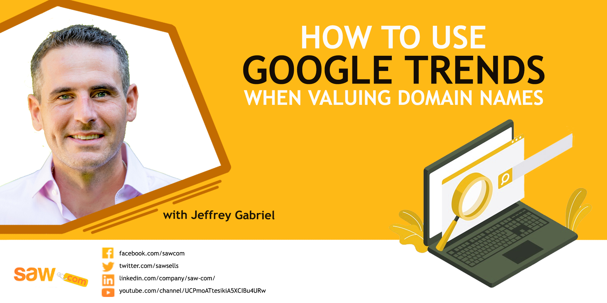 How to use Google Trends when valuing domain names.