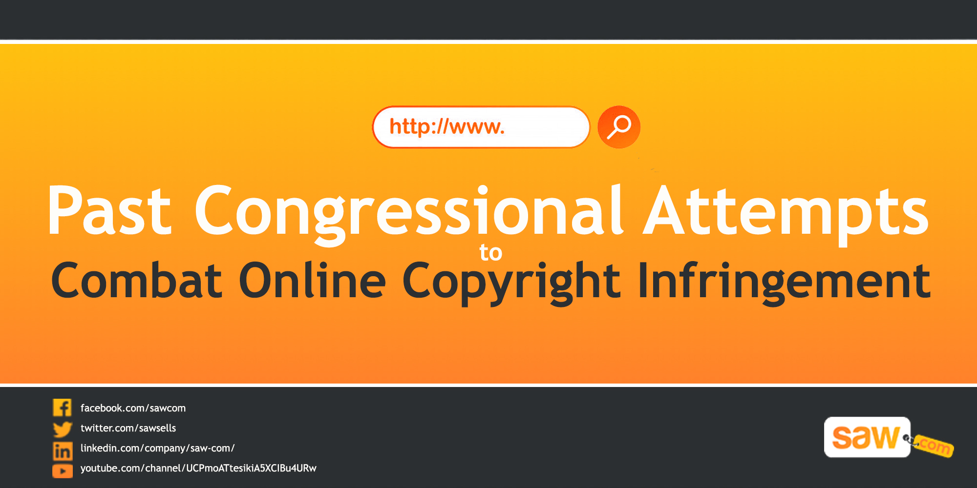 Past Congressional Attempts to Combat Online Copyright Infringement