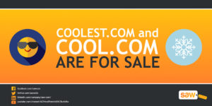 Cool and Coolest.com For Sale! Isn't that cool?