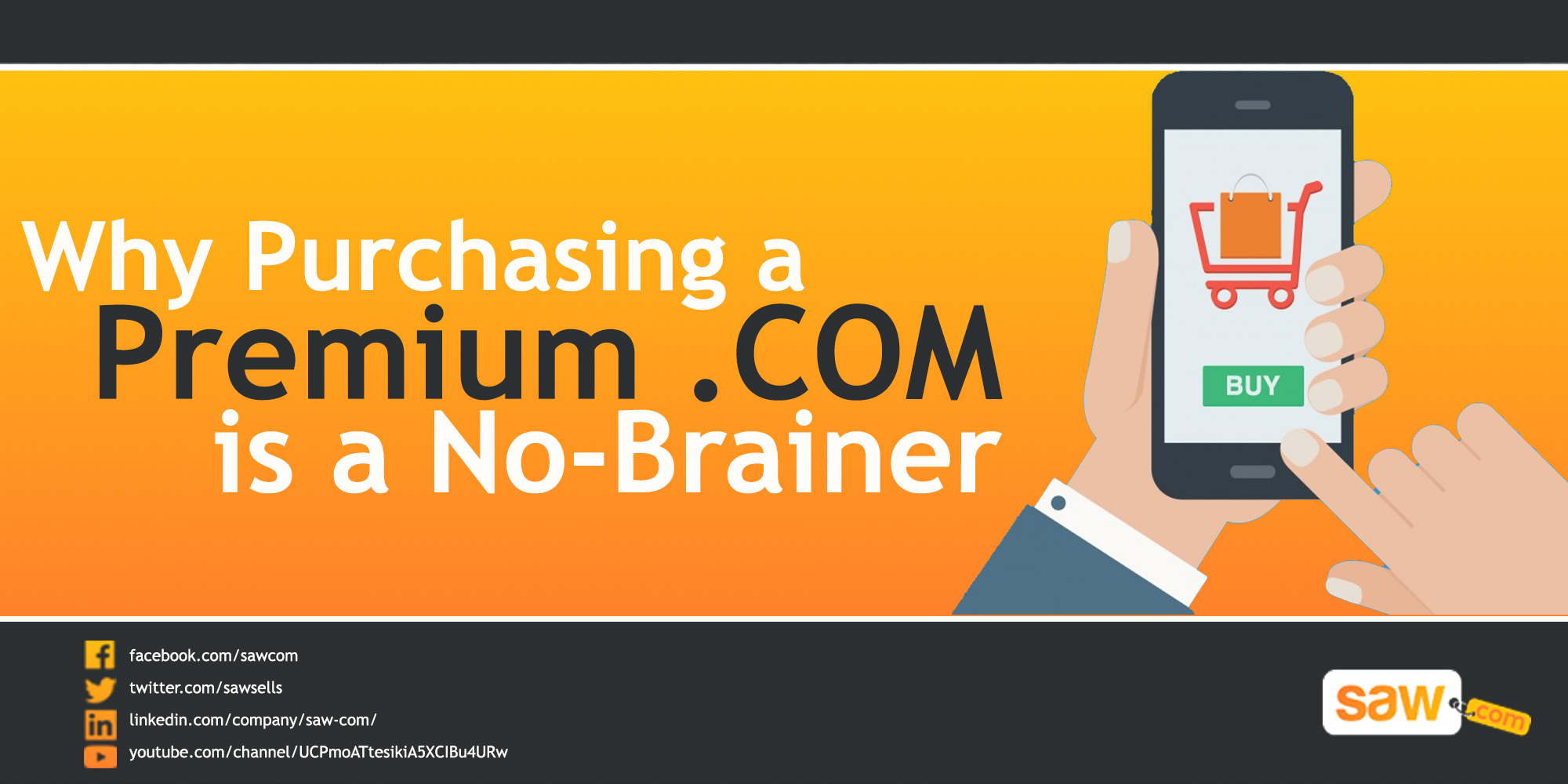 Why Purchasing a Premium .Com is a No-Brainer