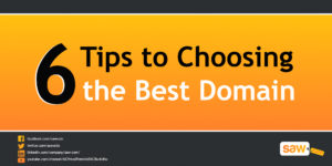 6 Tips to Choosing the Best Domain