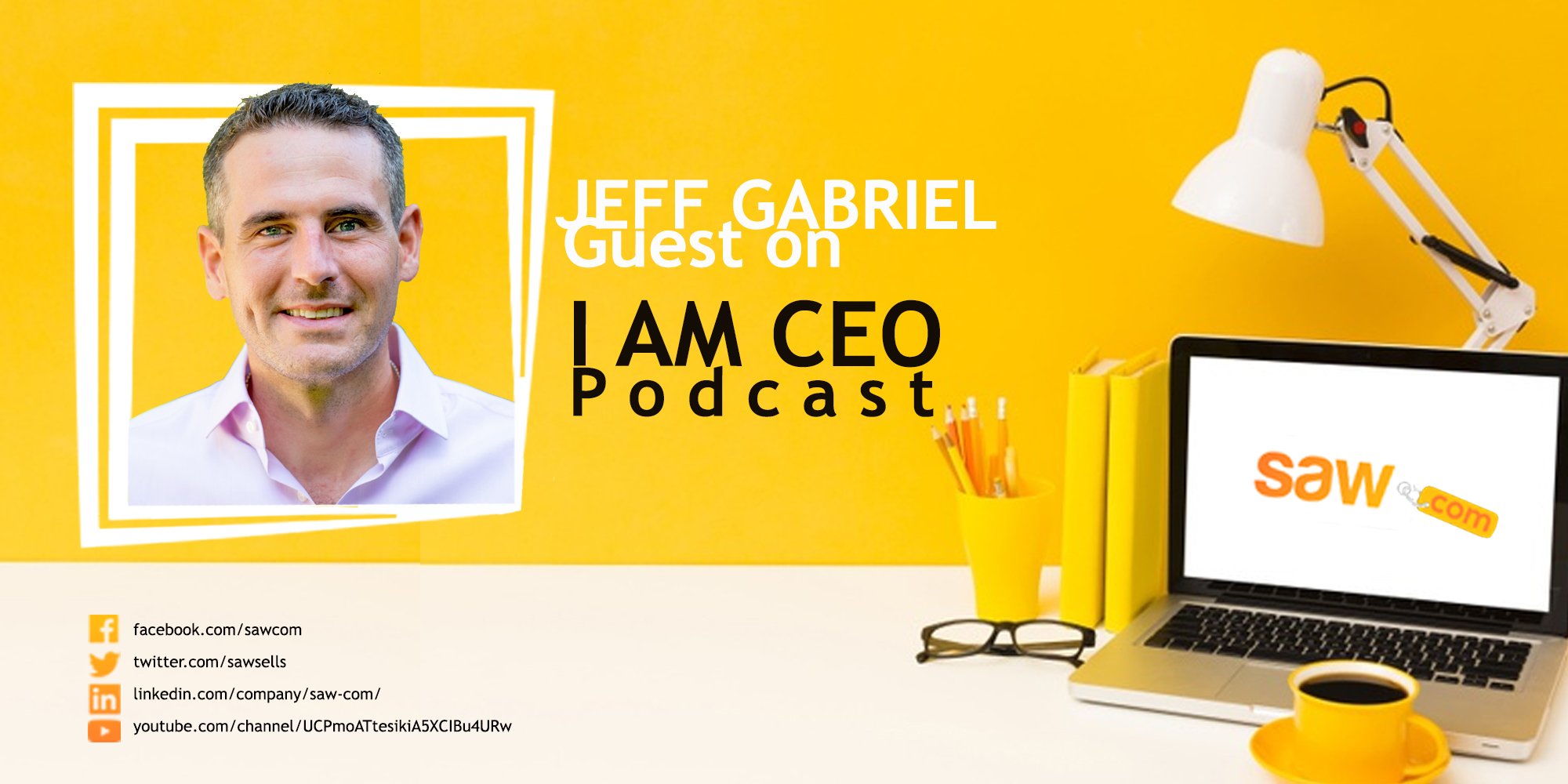 I AM CEO INTERVIEW – JEFFREY GABRIEL