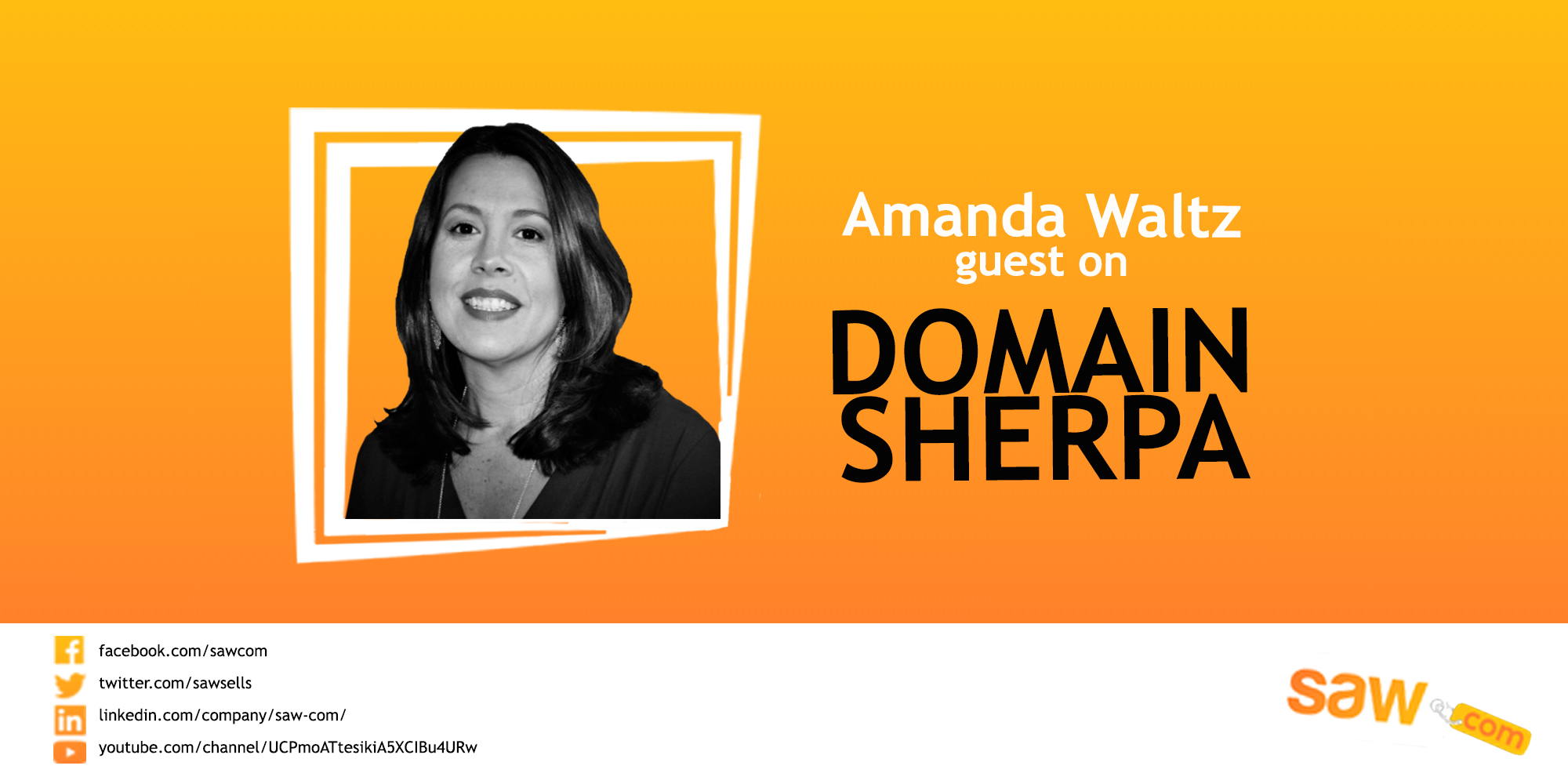 Amanda Waltz – Featured on Domain Sherpa