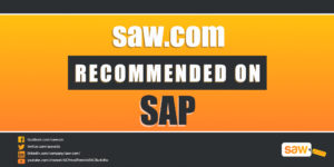 Saw.com Recommended On SAP!