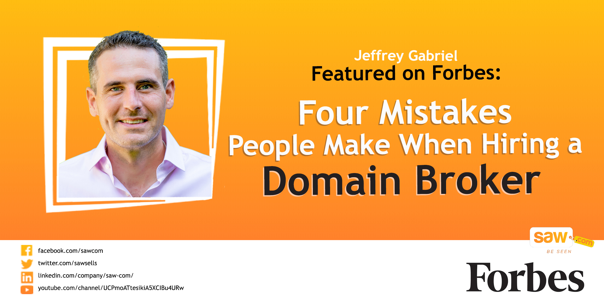 The 4 Mistakes People Make When Hiring a Domain Broker