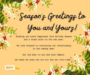 Happy Holidays from Saw.com